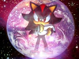 Sonic Adventure 2 Wallpaper - Shadow by Hynotama