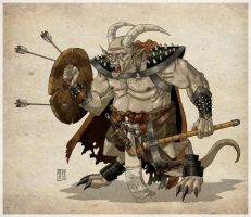 the battle demon by kusta