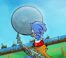 Sonic CD by Porcodotranstorno