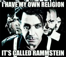I Don't Go To Church Because... by Rammstein-Kruspe