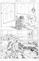 Spider-Man Family Pg 5 Pencils by RAHeight2002-2012