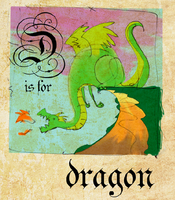 D is for Dragon by Tua