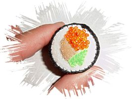 Another Sushi Pin Cushion by pcmommy2b