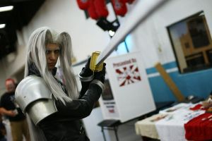 More Sephiroth Cosplay by DartFeld