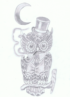Owl Design shadow by maikelj