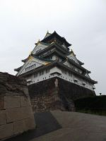 Osaka Castle by Dandric101