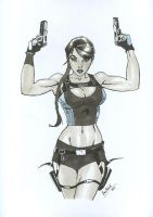 Lara Croft by Hum3Bogart