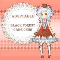 Giveaway chibi: Black Forest Cake by Frappe7