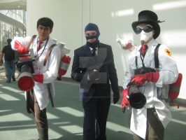 Anime Expo: Team Fortress 2 by punkanimelover