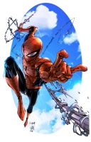 Spiderman Colors by kcspaghetti