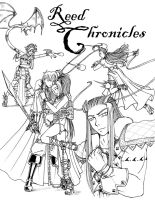 Reed Chronicles B+W Cover by SozokuReed