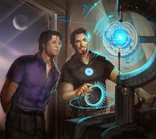 Science Bros by juliedillon