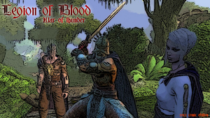 Legion of Blood Cover comic by Milosh--Andrich