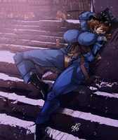 [COMM] Lone Wanderer Lilith by OAD-art
