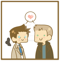 Destiel by Naahzda