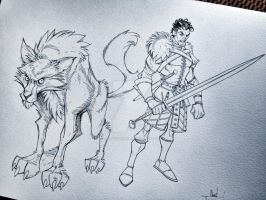 Robb Stark - Game of Thrones by ChadTHX1138