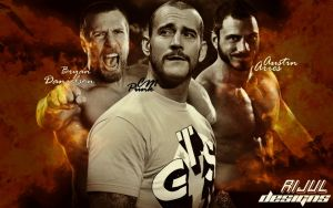 Wrestling Stars by RijulWallpapers