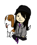ME AND HOUND by gorillaznoodle15