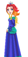 Alternate colors- Princess Narcissa by AwesomebyAccident