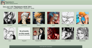 2011 A Year In Art -Meme- by blackstorm