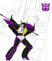 Skywarp G1 salute by Jee-Youn-Lim