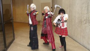 Devil May Cry Cosplayers by Chaosgamer137