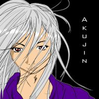 Akujin Colored by DJ-Anarchy