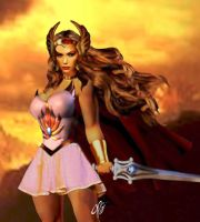 I AM SHE-RA! by planetbryan