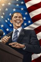 Barack Obama by VinRoc