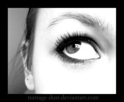BW Eye by teenage-dust