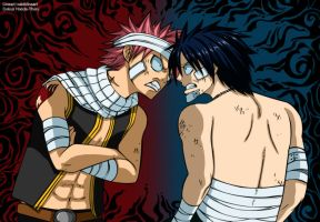 Fairy tail best friends -colour-. by Honda-Thoru