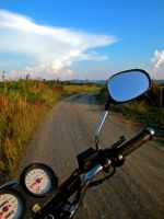 Backroad motorbike by Samemidude