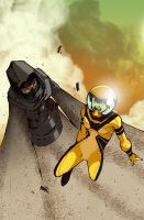 AVX: Dust vs Hazmat by bernce