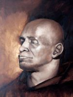 Portrait of a Monk by firestarter1988