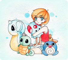 Misty's Plushies by TheStarKeepers