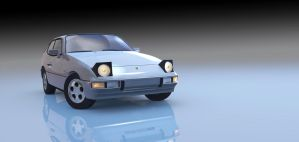 Porsche 924 by TheMaxlord