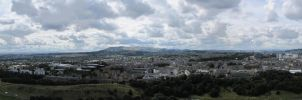 Edinburgh Panorama 4 by RobiSo