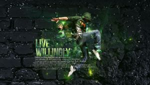 Live Willingly - Dancer V2 by ReapingGFX