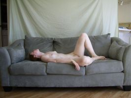 Nude on Sofa 6 by chamberstock
