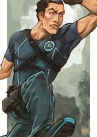 Daily Sketches Grayson Agent of Spyral by fedde