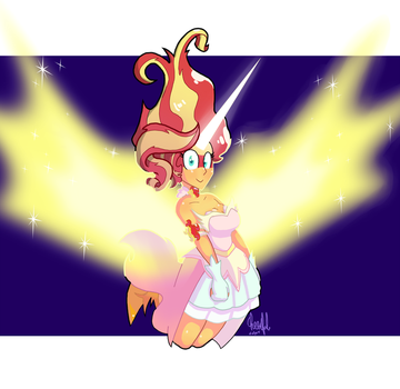 Sunset Shimmer by Cheerfulcolors