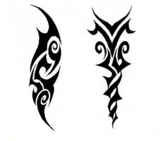 Tattoos for Solaria by Lacrimya
