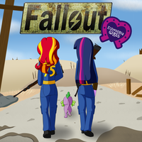 Fallout: Equestria Girls by jake-heritagu