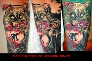 Fan tattoo of my Art part 6 by Undead-Art