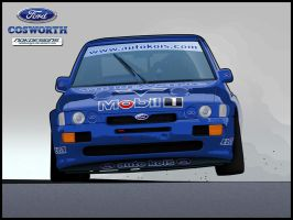 Ford Escort RS Cosworth by nokdesigns