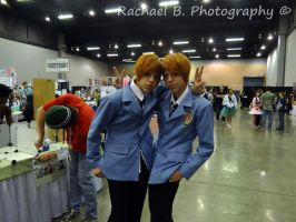 OHHC Twin Cosplay by jellybean12365