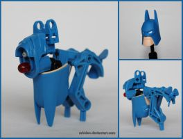 Hero Factory MOC: The Bark Knight by Rahiden