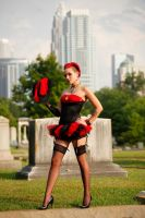 gothic pin up 2 by BubbleGumThug