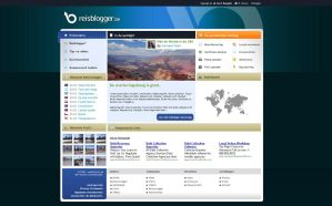 Reisblogger.be redesign by CyXo