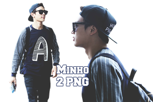 Shinee Minho PNG Pack by kamjong-kai